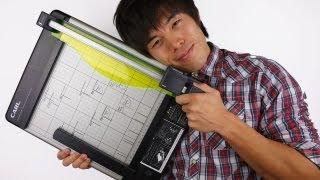 裁断職人になりました!人気の裁断機ディスクカッター Dc 210n 自炊道具