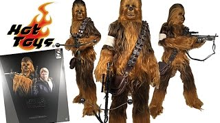 Hot Toys Star Wars The Force Awakens Chewbacca 1:6 Scale Figure Review