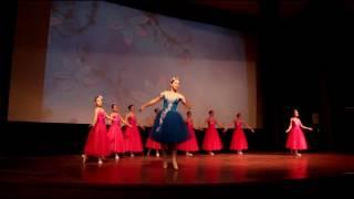 Выступление на показе мультфильма Балерина, 04.02.2017