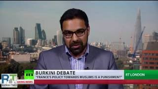 "RussiaToday: Ahmadiyya Muslim Asif Arif responds to France's ""Burkini Ban"""