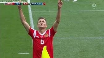 Russland - Saudi Arabien 5:0 - ORIGINALER KOMMENTATOR (WM 2018 - Gruppe A) HD