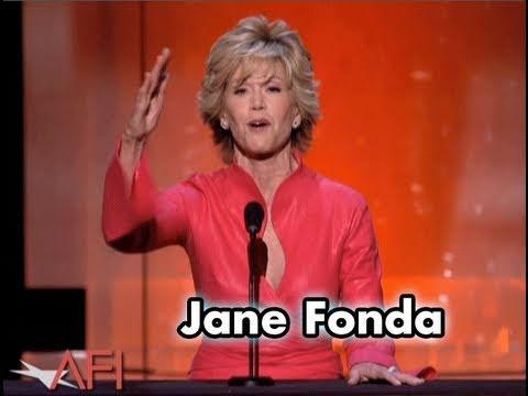 Jane Fonda Salutes Warren Beatty