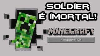 Minecraft - Sobrevivendo ao HARDCORE! #10 - SOLDIER PERDIDO DE NOVO!