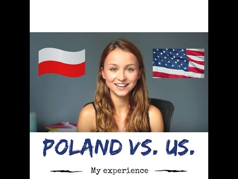 Differences between living in Poland and US.