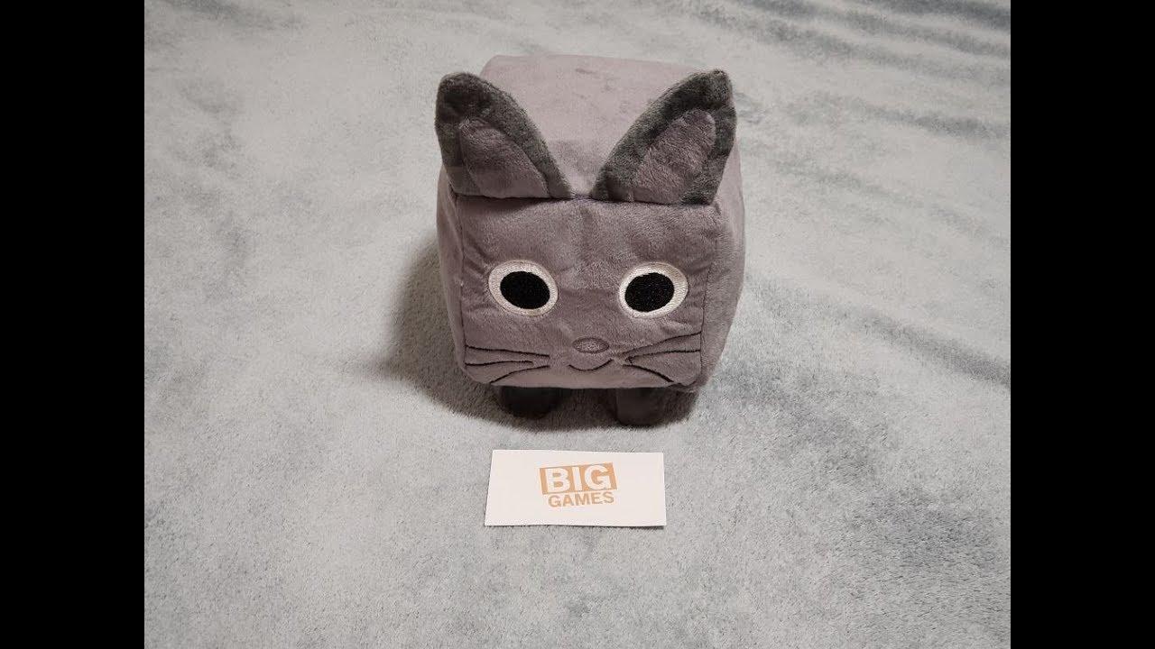 Roblox Giant Cat Unboxing Pet Simulator Plush Youtube