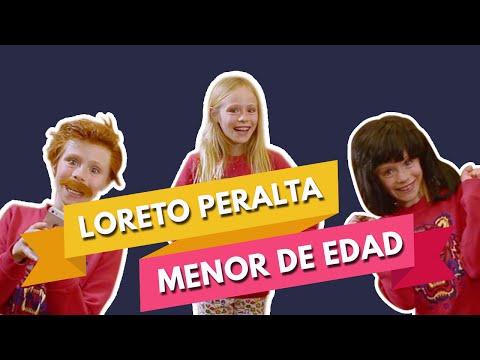 SOY MENOR DE EDAD ❤️ LORETO PERALTA
