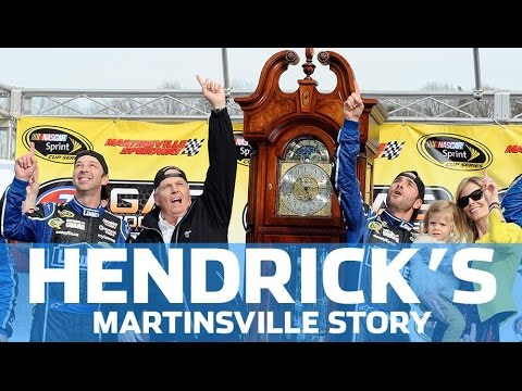 Hendrick Motorsports' Martinsville story, a tale of two tracks