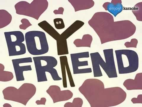 """Me singing """"Boyfriend"""" on Enjoy! Karaoke"""