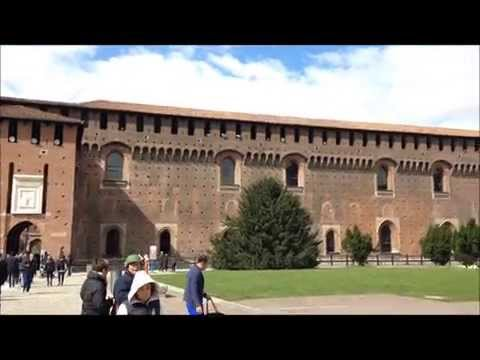 The Castello Sforzesco in Milan, Italy