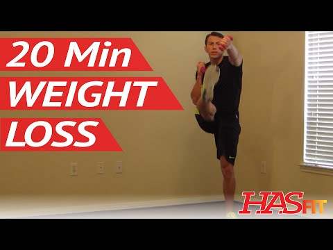 20 Minute Aerobics Workout for Weight Loss