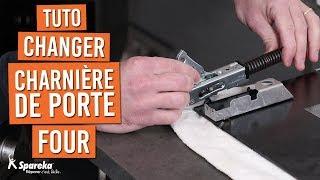 Comment changer les charnières de porte d'un four