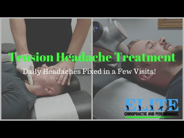 Highly Effective Treatment for Tension Headaches | Chesterfield Chiropractor
