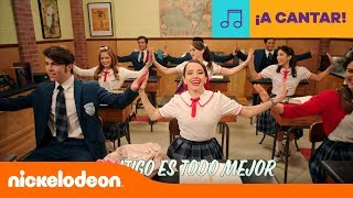 Club 57 | Bailando en la lluvia (Lyric video) | Latinoamérica | Nickelodeon en Español Video