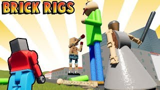 Lego Baldi meets Lego Granny - Fun Lego User Creations - Brick Rigs Gameplay Roleplay (Kid Friendly) thumbnail