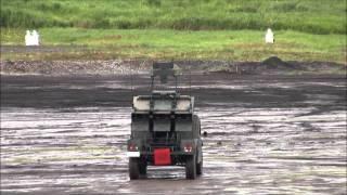 2014年富士総合火力演習前段3 中距離多目的誘導弾発射
