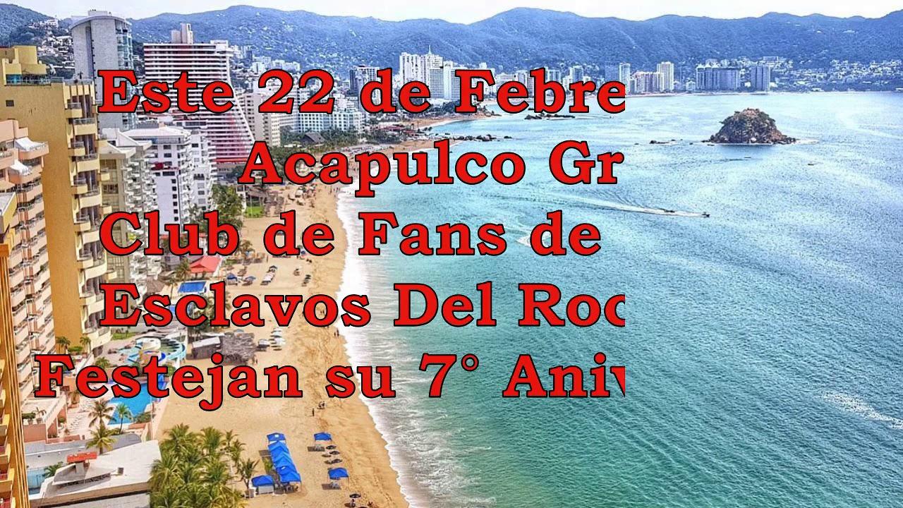 7° Aniversario del Club de fans Esclavos del Rocanrol