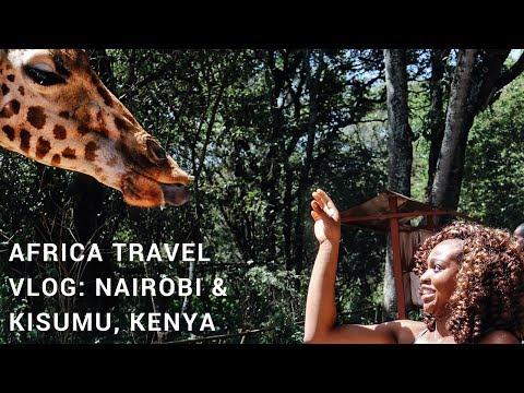 AFRICA TRAVEL VLOG: Nairobi & Kisumu, Kenya