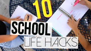 One of Danielle Marie Carolan's most viewed videos: SCHOOL LIFE HACKS || 10 Hacks for Back to School