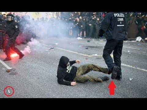 INSANE: G20 Riots In Hamburg, Germany 2017! - (Compilation) PART 1