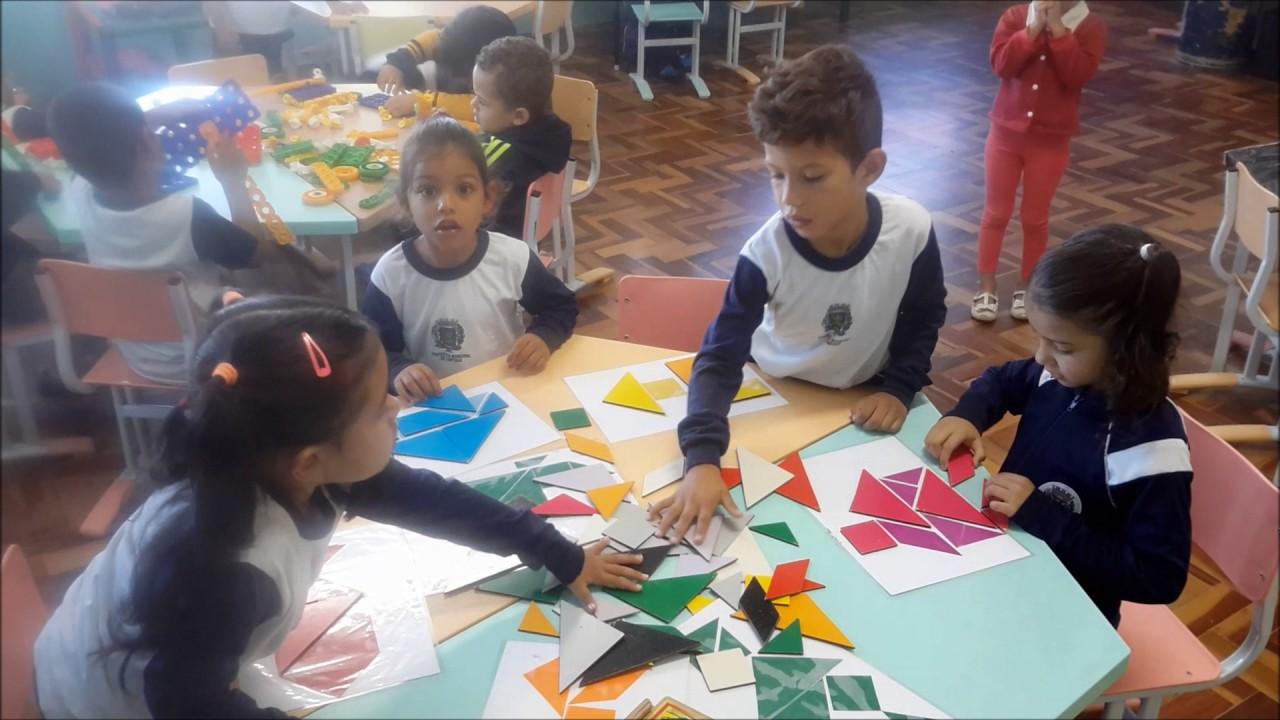 tangram na educação infantil  youtube