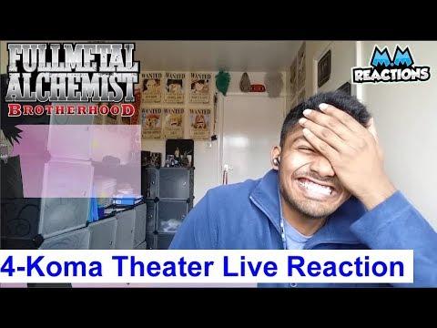 Fullmetal Alchemist Brotherhood   4 Koma Theater Live Reaction