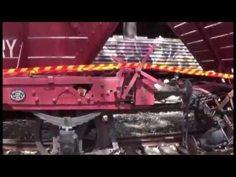 Richmond vale Railway Museum Bushfire aftermath