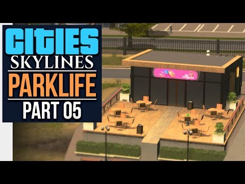 Cities: Skylines Parklife | HOTELS DISTRICT (#5)