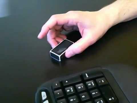 f042d7ec670 Logitech Mouse Cube Demo CES 2012 - YouTube