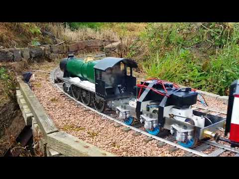 Building a garden railway Modified hall