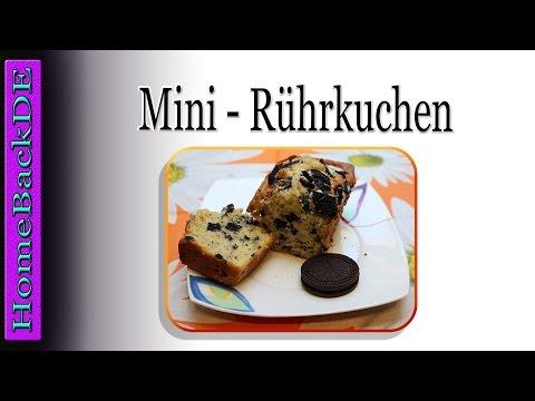 Mini Rührkuchen / Oreo Kuchen Rezept - Backanleitung Von HomeBackDE