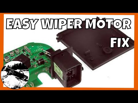 How to Fix GM Windshield Wiper Motor EASY! | 1988-1998 Chevy Silverado