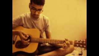 Iktara wake up sid guitar lesson and cover (Detailed Strumming).AVI