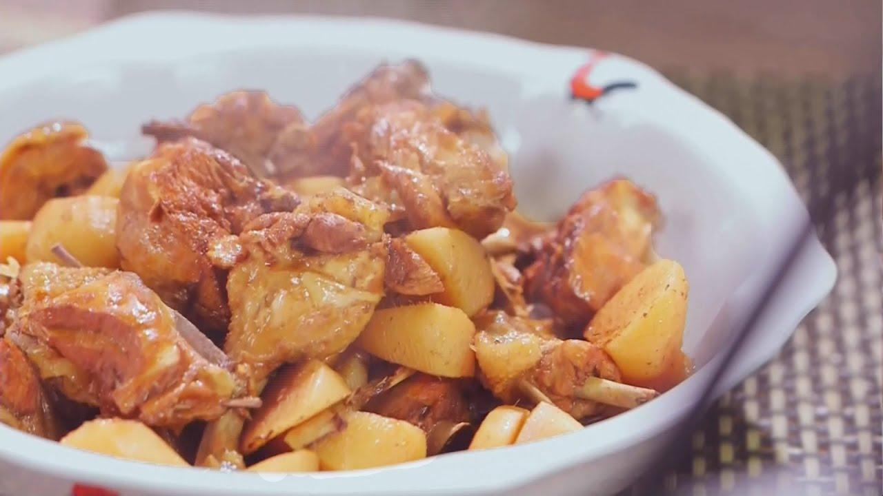 阿爺廚房食譜 | 唊醋大盆雞 - YouTube
