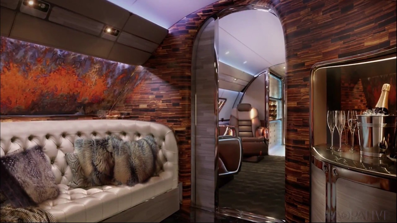 Amazing Business Jet Interiors