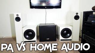 HOME AUDIO VS PRO AUDIO! + DEMO, CLOTHES & UPDATES