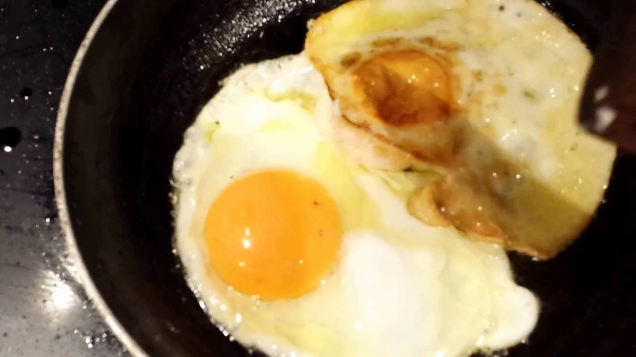Mouth-watering 'Sunny Side Up' and 'Over Hard'' fried egg ... Hard Fried Egg