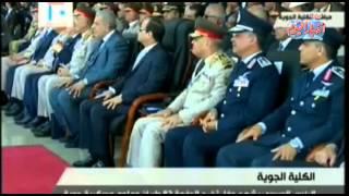 الرئيس السيسي يشهد حفل تخرج الدفعة 82 طيران وعلوم عسكرية جوية ج 6