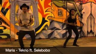 Choreo to Maria by Tekno ft. Selebobo
