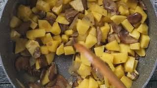 Рецепт грибного супа-пюре | Грибной суп-пюре