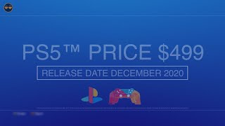PS5 Price to Be $499?! / PS5 Release Date Update -  December 2020?!