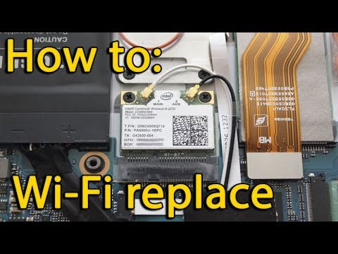 HP 250 / 255 G3 Wi-Fi card replacement