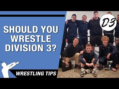 How Different Is D3 Wrestling Compared To Division 1 & 2?