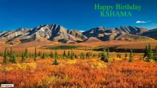 Kshama   Nature