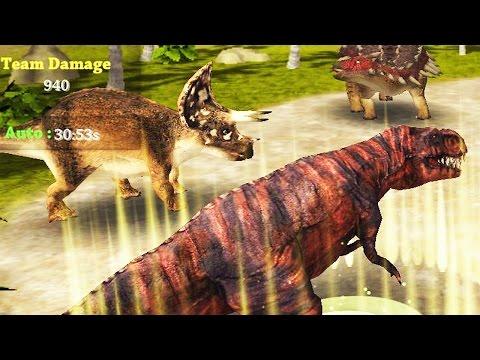 Dinosaur Fighting Evolution 3D - Clicker Game | Eftsei Gaming