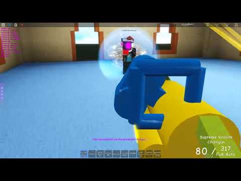 Roblox Pixel Gun Weapons Going Beastmode With The Noobite Chain