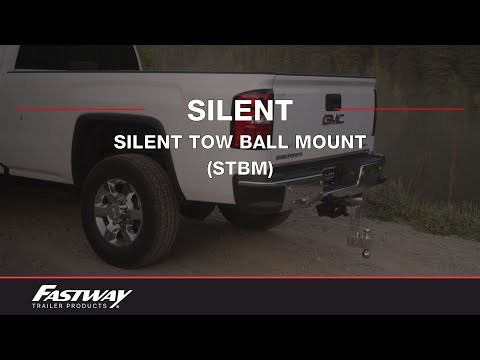Fastway Flash STBM (Solid Tow) - Anti-rattle Aluminum Ball Mount