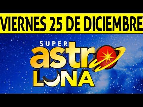 Resultado De ASTRO SOL Y ASTRO LUNA Del Viernes 25 De Diciembre De 2020 | SUPER ASTRO 😱💰🚨