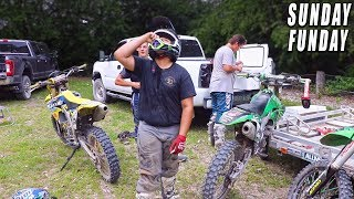 """DIRTBIKING WITH """"THE SQUAD"""" 