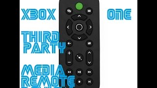 Xbox One Media Remote Control (3rd Party Chinese Knockoff) (Mini-Review & Impressions)