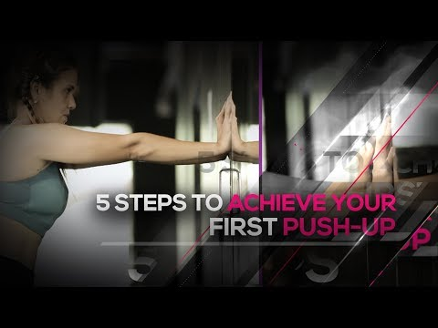 5 Steps To Achieve Your First Push-Up I Hauterfly